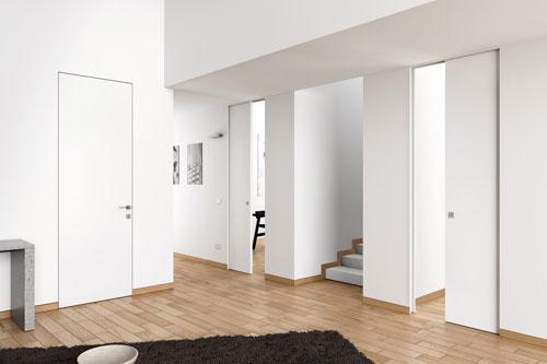 Porte filo muro eclisse fratelli toschetti - Porte filo muro garofoli ...
